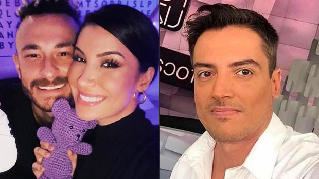 Fred, Bianca Andrade e Leo Dias