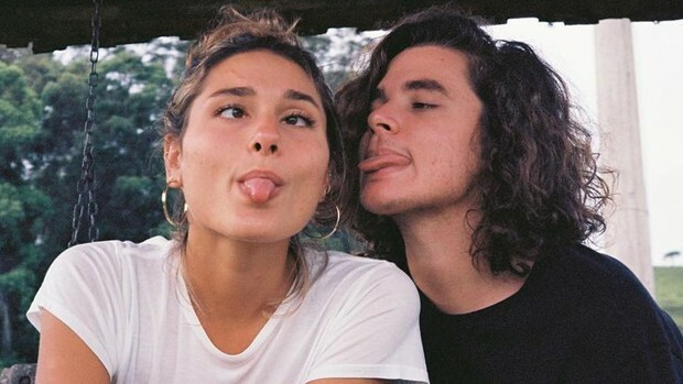 Sasha Meneghel e João Figueiredo