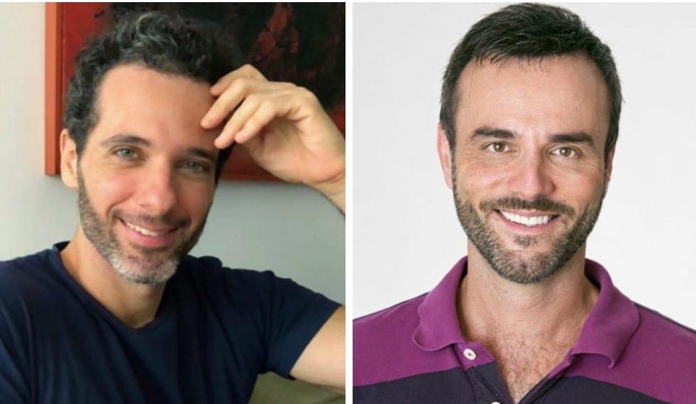 Mouhamed Harfouch e Marcelo Valle