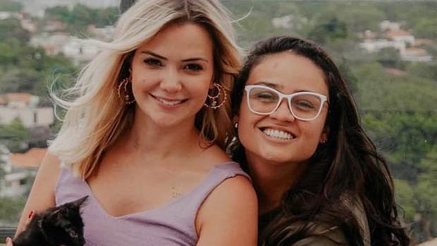 Marcela Mc Gowan e Luiza
