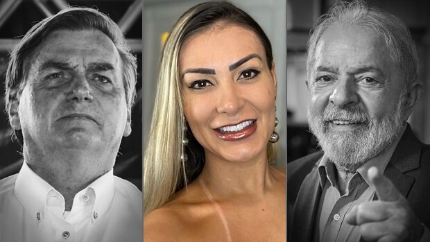 Jair Bolsonaro, Andressa Urach e Lula