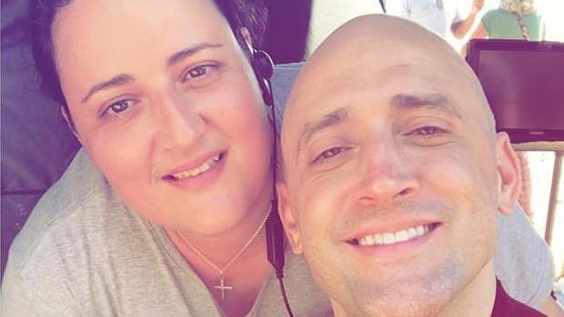Juliana Amaral e Paulo Gustavo