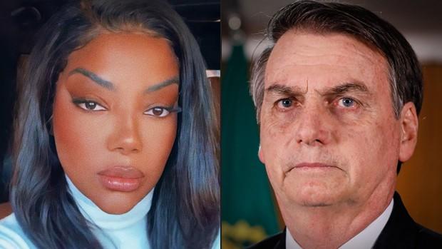 Ludmilla e Jair Bolsonaro