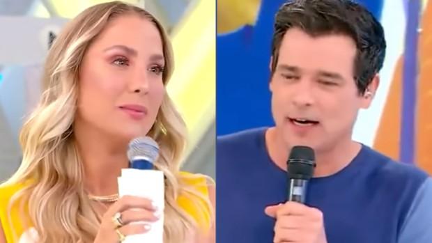Bruna Manzon e Celso Portiolli