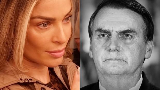 Grazi Massafera e Jair Bolsonaro