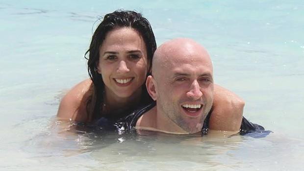 Tatá Werneck e Paulo Gustavo