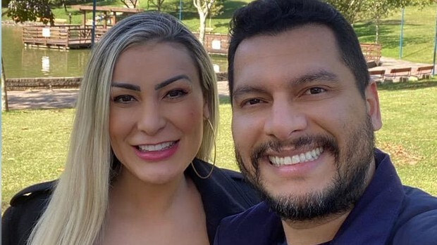 Andressa Urach e Thiago Lopes