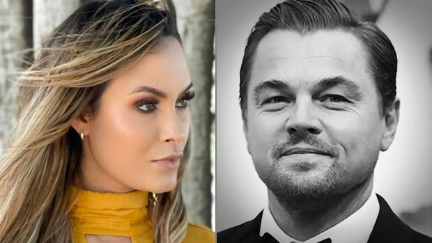 Sarah Andrade e Leonardo DiCaprio