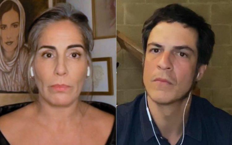 Gloria Pires e Mateus Solano