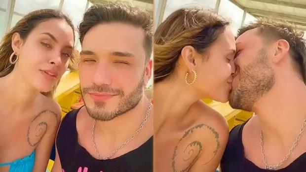 Sarah Andrade e Lucas Viana