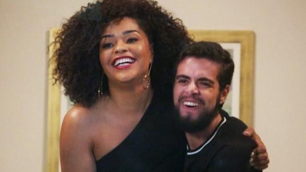 Juliana Alves e Bernardo de Assis