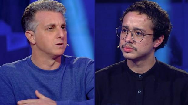 Luciano Huck e Thomaz Hackman