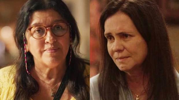 Regina Casé e Adriana Esteves