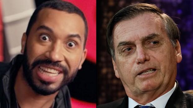Gil do Vigor e Jair Bolsonaro