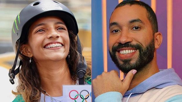 Rayssa Leal e Gil do Vigor