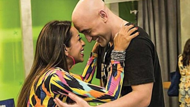 Samanta Schmütz e Paulo Gustavo