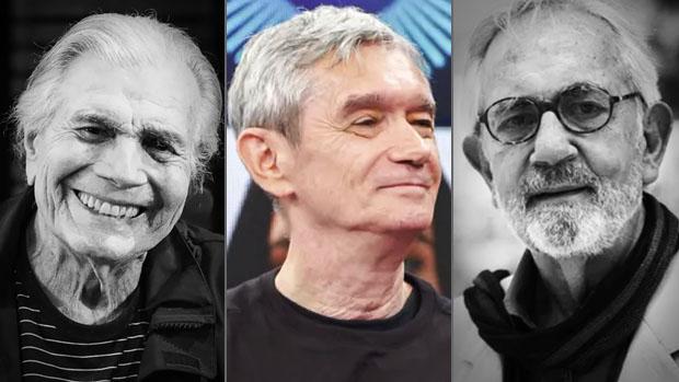 Tarcísio Meira, Serginho Groisman e Paulo José