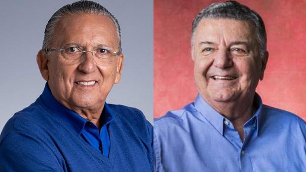Galvão Bueno e Arnaldo Cezar Coelho