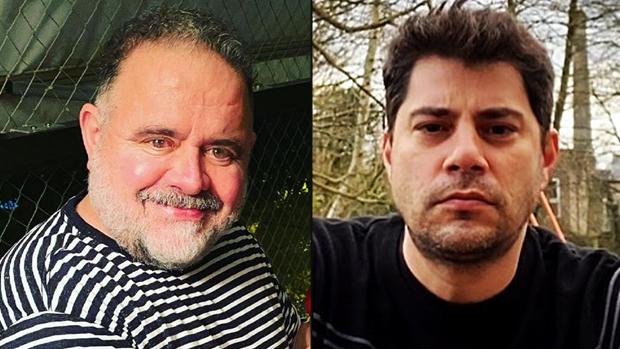 Leo Jaime e Evaristo Costa