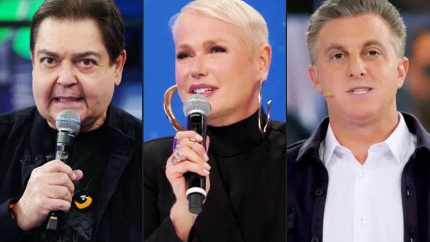 Faustão, Xuxa Meneghel e Luciano Huck
