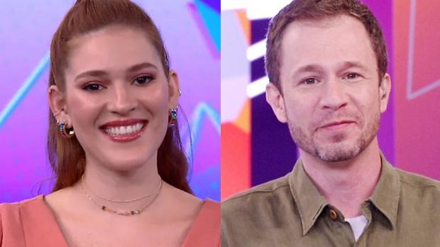 Ana Clara e Tiago Leifert