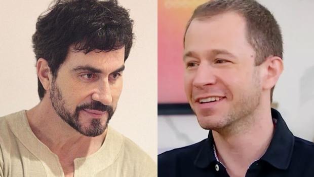 Padre Fábio de Melo e Tiago Leifert
