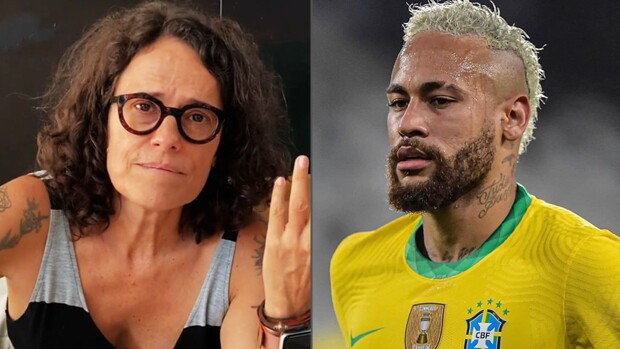 Zélia Duncan e Neymar
