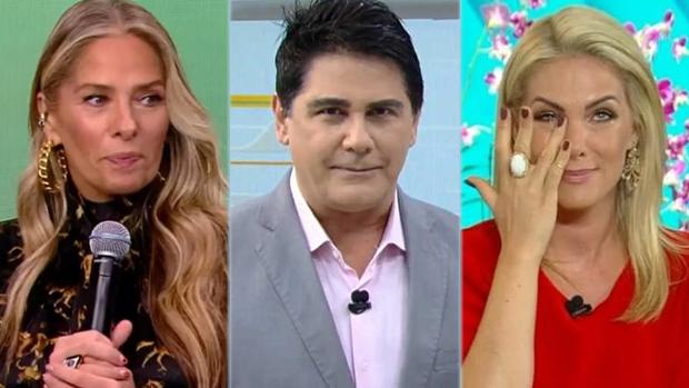 Adriane Galisteu, César Filho e Ana Hickmann